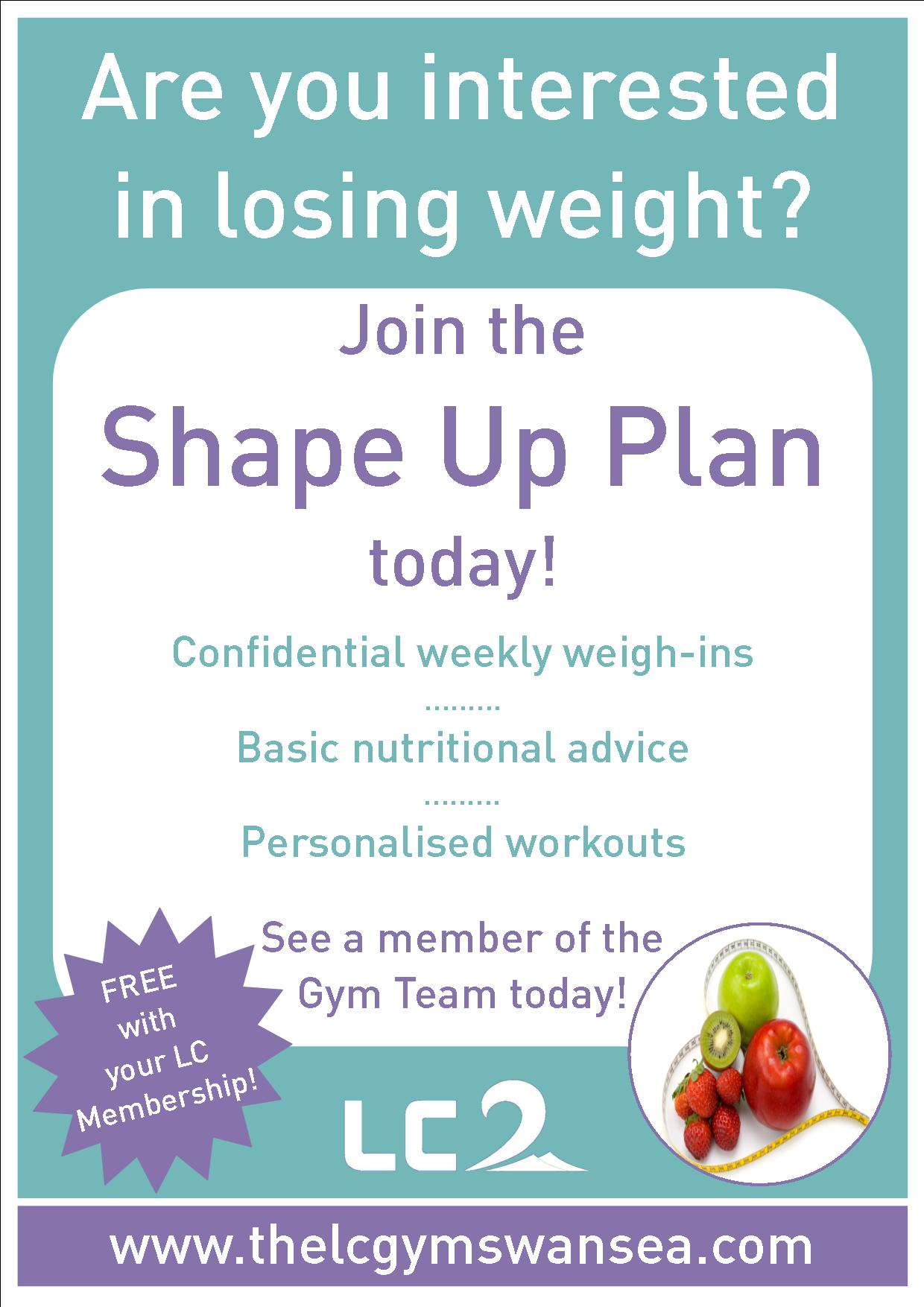 Shape Up Plan
